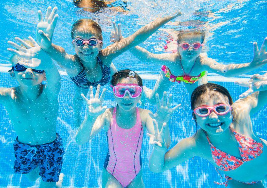 Zwembadmannetjes